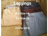 Leggings x 6