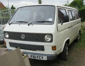 VW T25 Transporter 8-Seater - Project - 1989