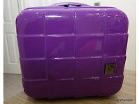ANTLER Purple Toiletries / Vanity Hard Case