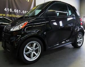 2015 smart fortwo pure NAVIGATION GLASS ROOF HEATED SEATS