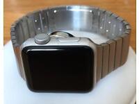 Apple Watch Series 2 38mm with Link Bracelet Genuine & Nightstand