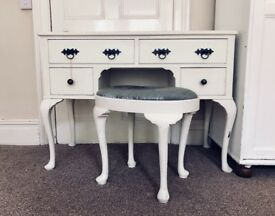 Dressing Table & Stool - Vintage Look £110