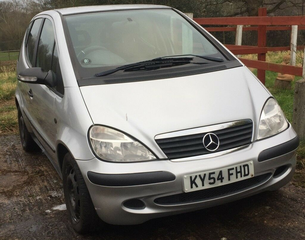 Mercedes A Class 1.4 A140 Classic 2004, manual *GEARBOX REPLACED*