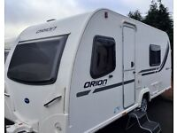 2012,Bailey Orion (Fixed Bed, Full End Washroom)