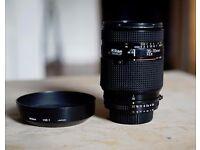Nikon AF Nikkor 35-70mm F2.8 Fast Zoom Lens