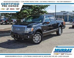 2011 Ford F-150 Platinum *4WD *Twin Turbo *Leather
