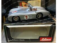 Schuco Mercedes clockwork tinplate cars boxed