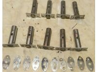 Job Lot of Star Key Bolts (x9) Plus Key