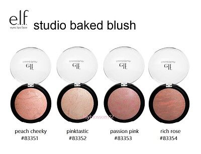 Elfs Make Up (e.l.f. studio baked blush make up bronzer elf pick ur shade)