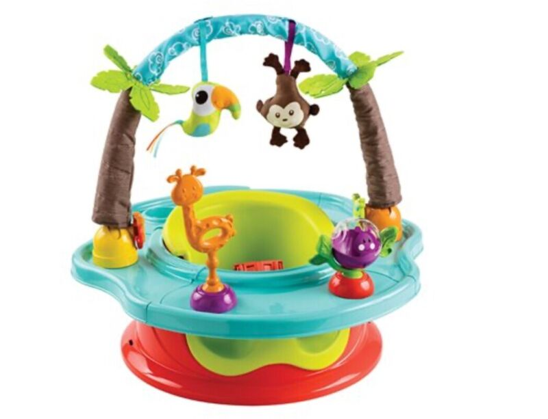 Summer Infant Delux Super Baby Seat- Wild Safari