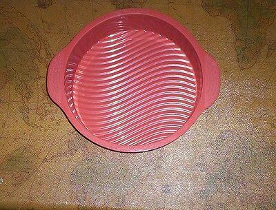 Round Bread Pie Flan Tart Birthday Party Cake Silicone Mold Pan Bakeware Flan Mold Pan
