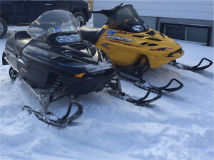 2 sleds for sale!  Best offer!