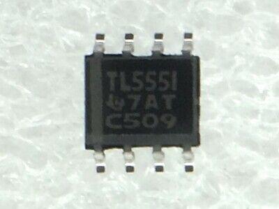 Tlc555id Ti Ic Osc Sgl Timer 2.1mhz 8-soic 10 Pieces