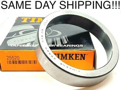 Timken Tapered Roller Bearing Cup 25520 3.265 Outside Diameter 0.750 Width