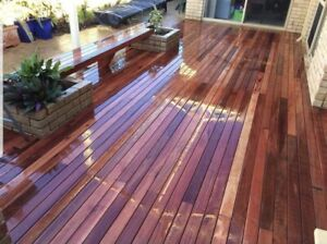 New jarrah decking clearence