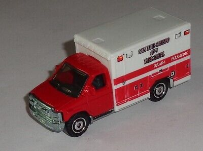 Matchbox 2008 Ford E-350 Ambulance Emergency Response Near Mint 1/80 ?