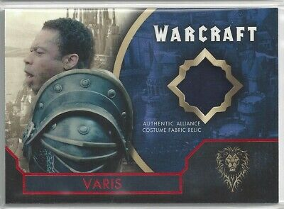 2016 Topps WarCraft Red Parallel Costume Relic Card Varis /25 - Dean Redman - Varys Costume