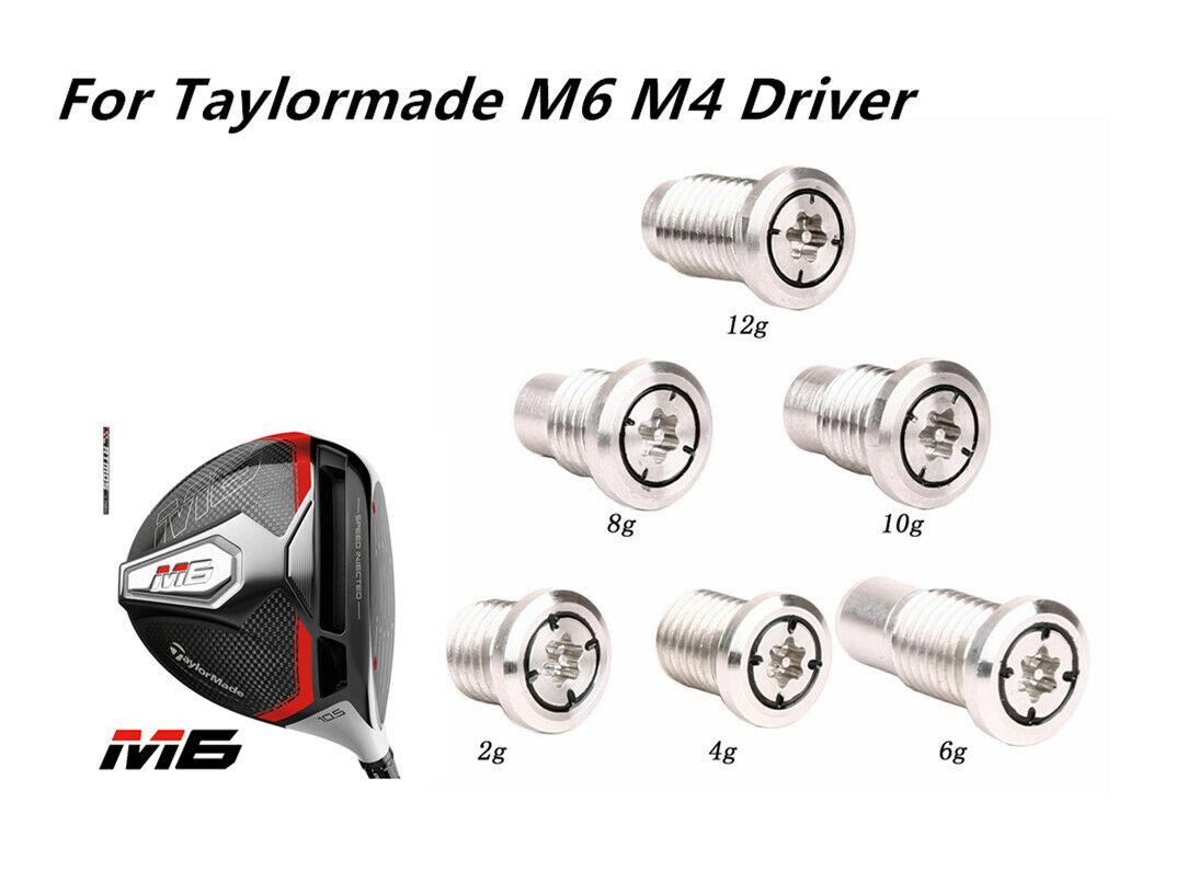 Taylormade Neu M6 M4 Driver Gewicht Golf Ballputter Zunehmen Hilfe 2g/4g/6g/