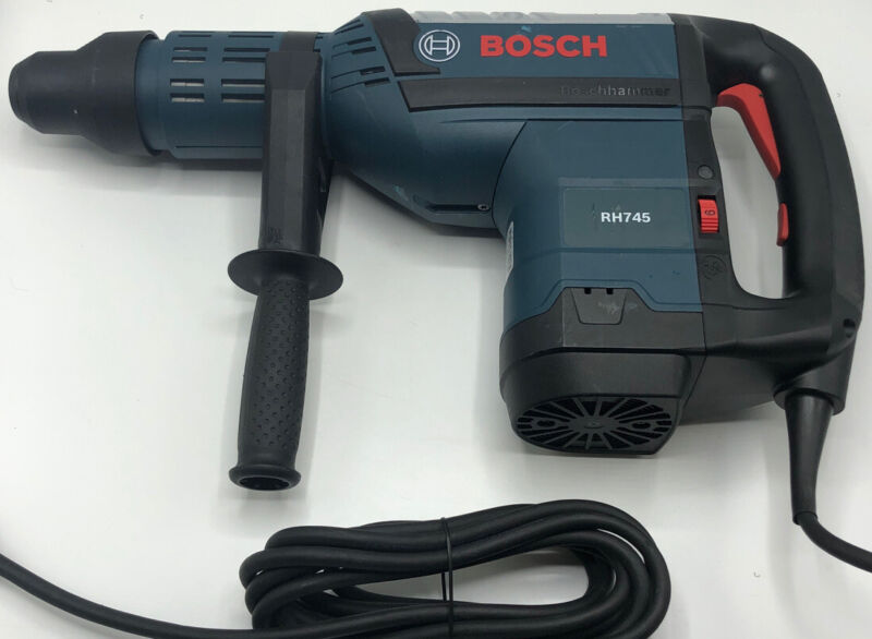 Bosch RH745 SDS Rotary Hammer Drill 120v 13.5a no box or carrying case tool only