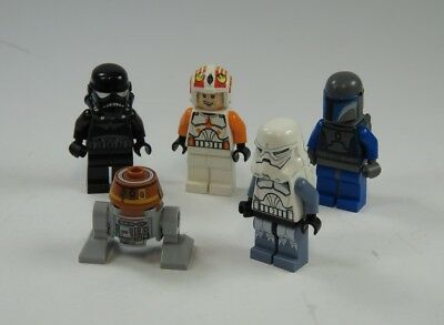 LEGO® STAR WARS™ Figur Clone Trooper Shadow Pilot Droid Jetpack 5 Figuren