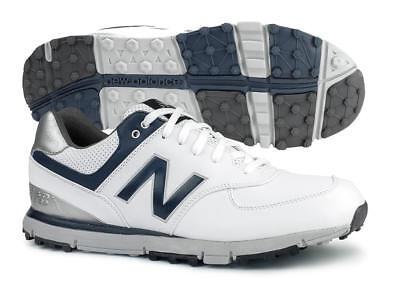 New Balance NBG574WN SL Golf Shoes White/Navy Men