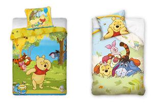 Lenzuola biancheria letto bambini disney winnie the pooh ebay - Biancheria letto disney ...