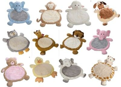 Best Ever Baby Infant Cuddle Buddy Plush Play Mat Floor Rug - Great Shower