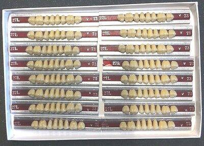Dentsply New Hue Dentist Dental Lab Porcelain Denture Teeth 27l U  73b4