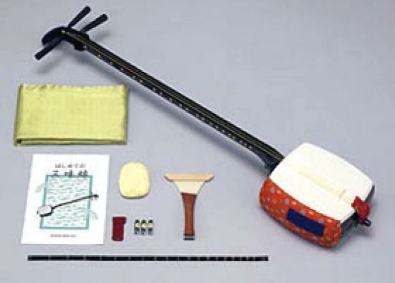 Introductory Tsugaru Shamisen set Overall length From Japan Free Shipping