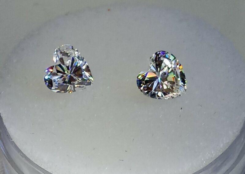 Fabulite strontium titanate ClearAntique/Vintage gemstone.new antique stock fb97