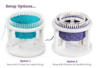 """KB  Knitting Board  Rotating Double Knit Loom 9.5""""X10.5""""X3.5"""" KB8300"""