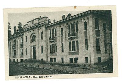 ADDIS ABEBA OSPEDALE ITALIANO ETIOPIA AFRICA ORIENTALE COLONIE D'ITALIA ANNI '30