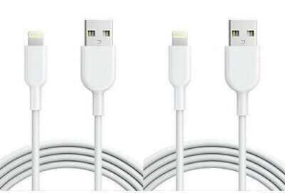 2Pack 6FT USB Cable For OEM Original Apple iPhone5 6 7 8Plus X Lightning Charger