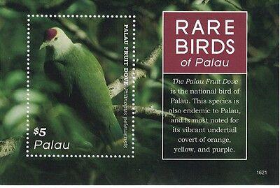 PALAU - 2016  BIRDS OF PALAU - S/S MNH