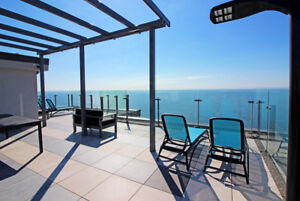 Stunning 1 Bed Apt on the Lakeshore- Pets Welcome!