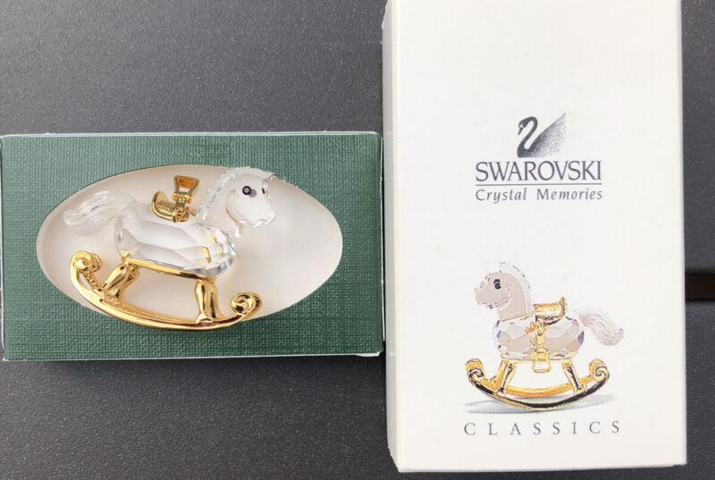 Swarovski Crystal Memories ROCKING HORSE MIB #9460NR000068 Excellent Condition