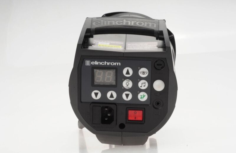 Elinchrom BRX 500 Professional Studio Flash System Monolight & 16 Cm Reflector