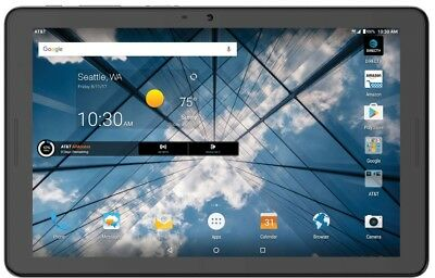 ZTE K92 AT&T Primetime 10-inch 32GB 2017 Tablet GSM Unlocked Black NEW OTHER