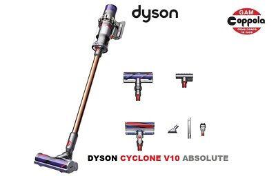DYSON CYCLONE V10 ABSOLUTE ASPIRAPOLVERE SENZA FILI SCOPA DYSON V10 SENZA SACCO