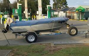 3.4 metre SAVAGE Tinny with Trailer. Great Condition Mount Martha Mornington Peninsula Preview