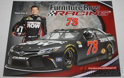 2016 Martin Truex  Jr  Furniture Row Toyota Camry Nascar Sprint Cup Postcard