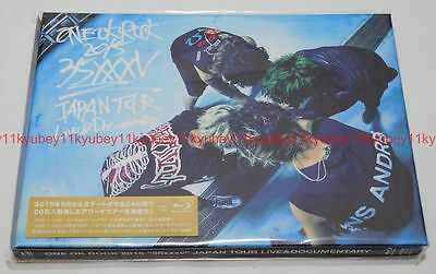 New One Ok Rock 2015 35Xxxv Japan Tour Live   Documentary 2 Blu Ray Azxs 1015
