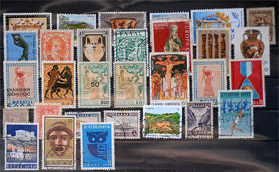 Greece-Lot stamps (ST421)