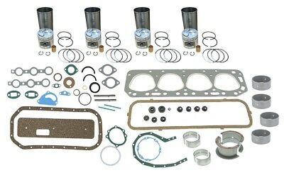 Engine Overhaul Rebuild Kit Ford 600 700 2000 2110 4 Cyl 134 Gas Tractor