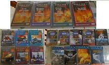 19 Documentaries DVD's  in Good condition. 3 New & Sealed Regents Park Auburn Area Preview