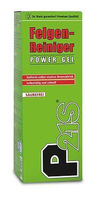 Dr. Wack P21S P21S Felgen-Reiniger POWER GEL 500ml Felgenreiniger Gel 1250 gebraucht kaufen  Hofheim