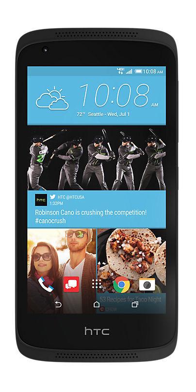 HTC Desire 526 - 8GB - Stealth Black (Verizon) Smartphone