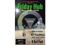 Friday Hub in partnership with YMCA Norfolk