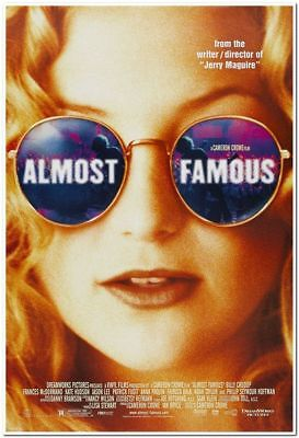ALMOST FAMOUS -2000- orignal 27x40 movie poster - sexy KATE HUDSON in (Kate Hudson Sunglasses)