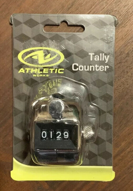 Handheld Tally Hand Counter 4 DIGIT Number Manual Clicker